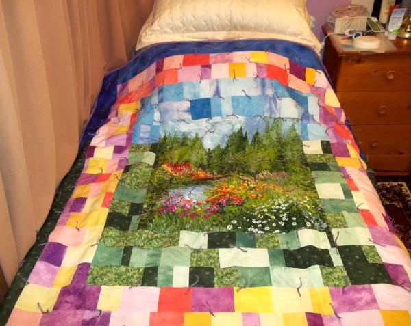 beautiful gift quilt-Jan-21/2021
