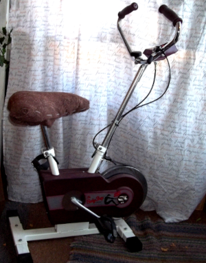 my stationery exercise bike for sale.