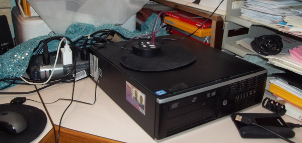 the old HP computer as of last October